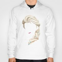 elsa Hoodies featuring Elsa by Bethany Mallick
