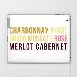 Wine Typography Spectrum Laptop & iPad Skin