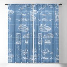 Classified Sheer Curtain