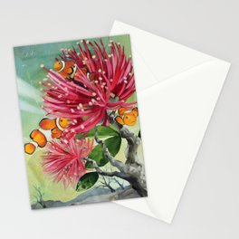 Clownfish & Ohia Stationery Cards