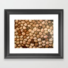 Decisions, Decisions / Boob Painting Framed Art Print