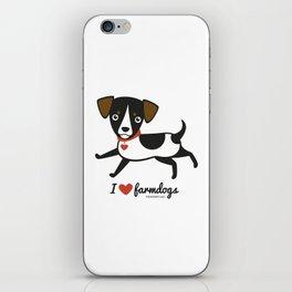 I love farmdogs iPhone Skin