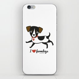 I love farmdogs iPhone Skin