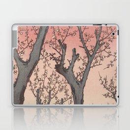 Plum Garden Kamata Ukiyo-e Japanese Art Laptop & iPad Skin