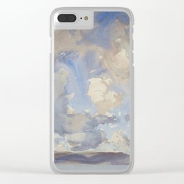 Clouds by John Singer Sargent, 1897 Clear iPhone Case