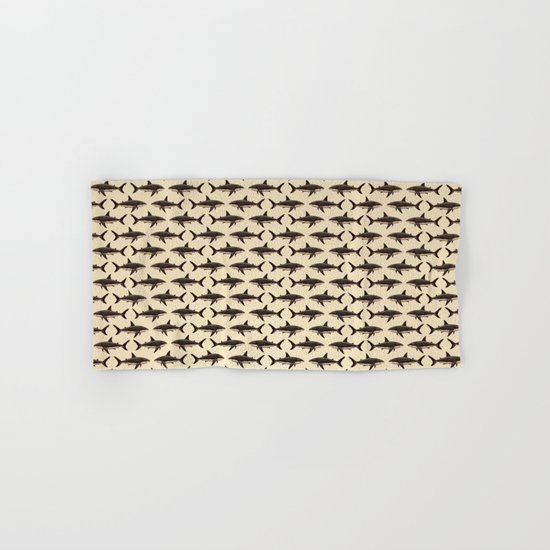 Pattern: Great White Shark ~ Vintage Hand & Bath Towel