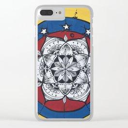 Venezuela Libre Clear iPhone Case