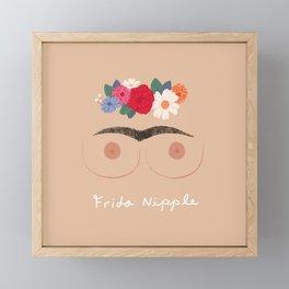 Frida Nipple Framed Mini Art Print