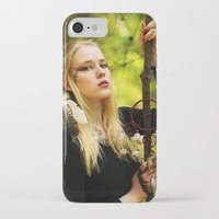 witchcraft iPhone & iPod Cases featuring Witchcraft by Aleksandra Walczak