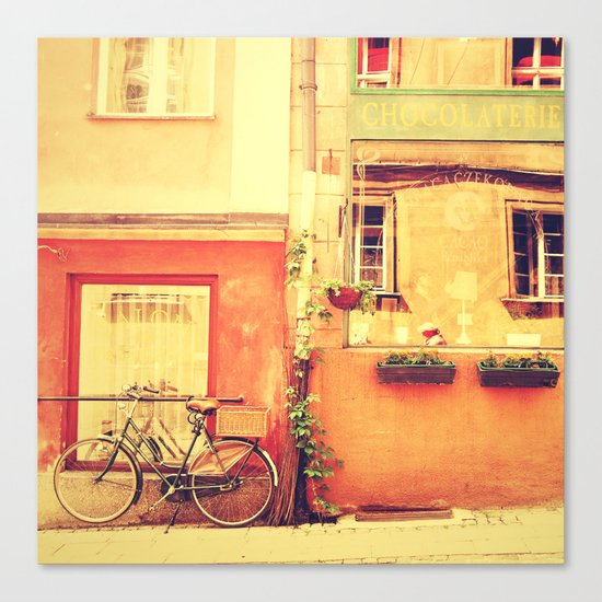 Chocolaterie I Travel Photography Canvas Print