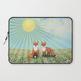 2 foxes Laptop Sleeve