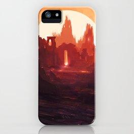 Fantasy Ruins iPhone Case