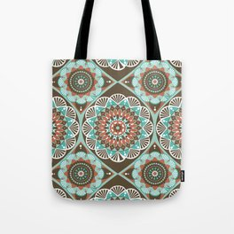 Toned Variety Pattern Tote Bag