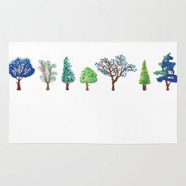 Summer trees Rug