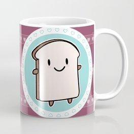 Happy Bread Slice Coffee Mug