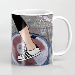Walking in Wrigleyville Coffee Mug