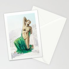 Dying Daughter of Niobe in Pompeii Stationery Cards