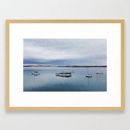 Morning Calm Framed Art Print
