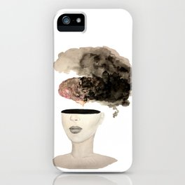Is your brain leaking? iPhone Case