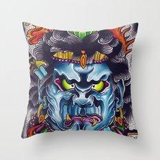 fudo Throw Pillow