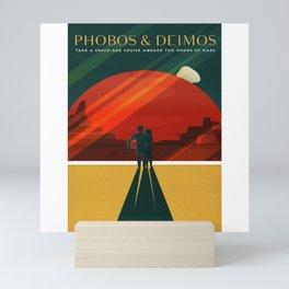 Phobos Deimos Mini Art Print