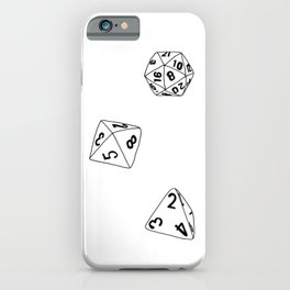 Dungeons and Dragons Dice iPhone Case