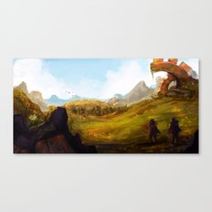 Outskirts Canvas Print
