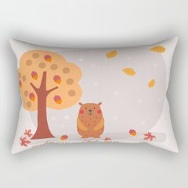welcome automn Rectangular Pillow