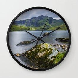 Llyn Ogwen Glyder Fawr Wall Clock