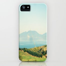 YESTERDAY YOU TOLD ME 'BOUT THE BLUE BLUE SKY iPhone Case