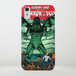 Horror From The Deep! iPhone Case