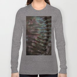 Shimmery Greenish Pink Abalone Mother of Pearl Long Sleeve T-shirt