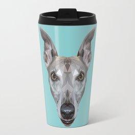 Whippet // Blue (Vespa) Travel Mug