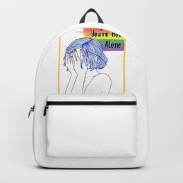You're not alone Backpack