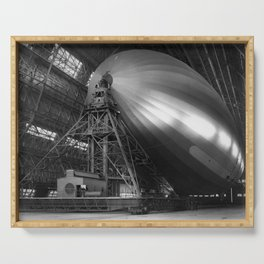 USS Macon - America's Scouting Airship Serving Tray