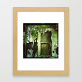 Going Green Framed Art Print