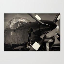 Tucano ZF 144 RAF Training Aircraft Canvas Print