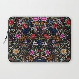 Manton, Spanish flamenco shawl detail Laptop Sleeve
