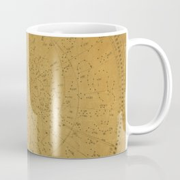 Japanese Star Chart 1677 Coffee Mug