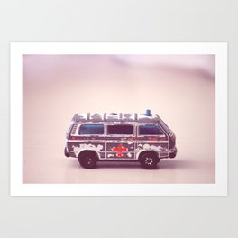 Ambulance Art Print