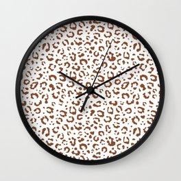 Leopard ll Wall Clock