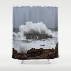Wave Splashing On The Rou2026