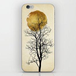 Moonrise - Kubistika by Boris Draschoff iPhone Skin