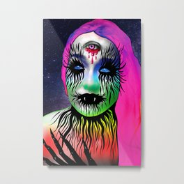 Rainbow Vampire Metal Print