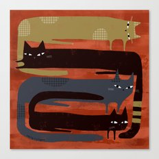 CAT QUAD Canvas Print