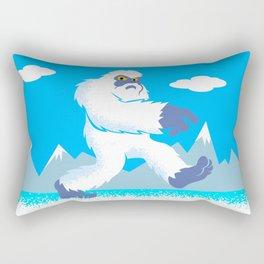 Cartoon yeti Rectangular Pillow