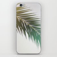 palm tree iPhone & iPod Skins featuring palm tree by iulia pironea