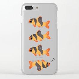 Clown loach Clear iPhone Case