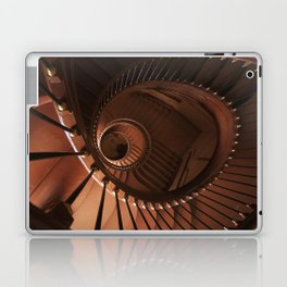 Spiral staircase in browns Laptop & iPad Skin
