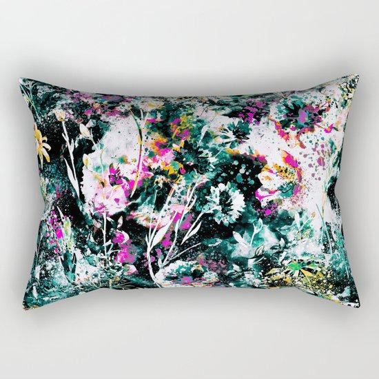 Space Garden III Rectangular Pillow